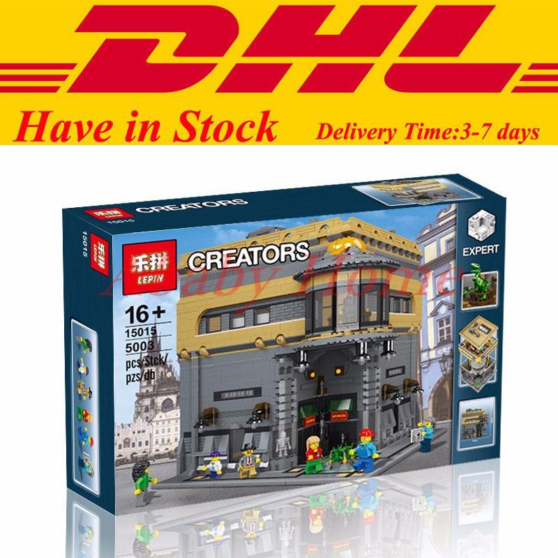 IN Stock LEPIN 15015 5003pcs City Creator The dinosaur museum Model Building Kits Minifigure Blocks Bricks