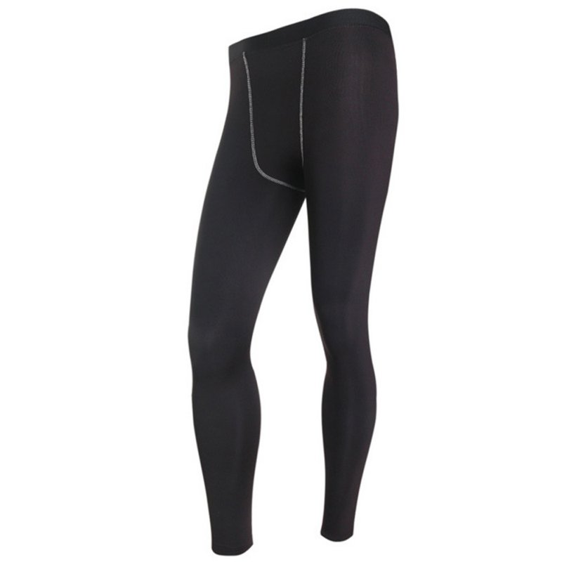 Mens Long Thermal Base Layer Tights Pants Evolution Plush Warm Underwear Slim Trouses