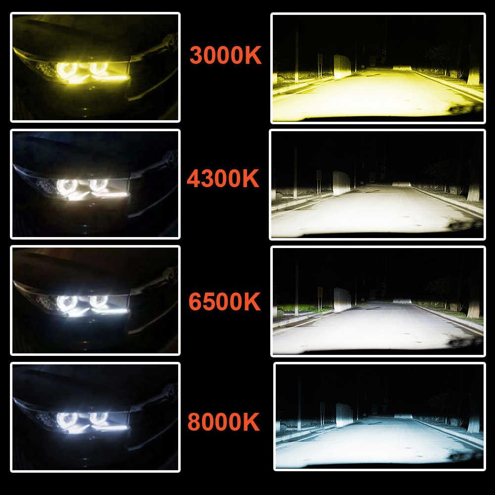 CZPVQ H4 LED H7 H11 3000K 4300K 6500K 8000K H8 H1 880 H3 9005 9006 Car Headlight Bulb Auto Fog Light 60W 9000LM LED Headlamp 12V