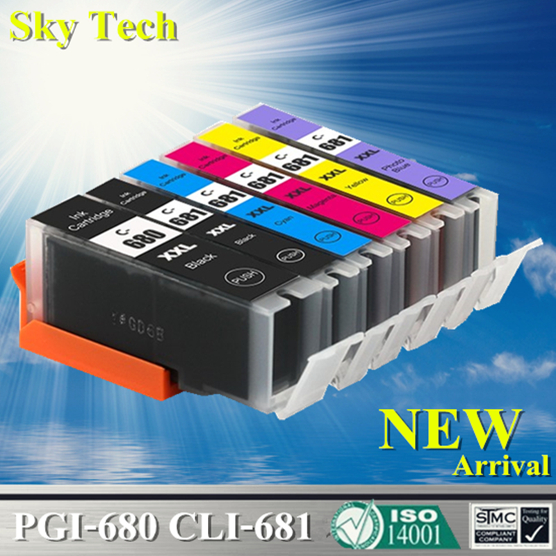 Compatible Ink Cartridges For PGI680 CLI681 PGI 680 CLI 681 For Canon Pixma TR7560 TR8560 TS6160