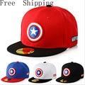 Captain America Avengers 2016 Brand Baseball Caps Cartoon Casual Hat Hip-Hop Hats And Snapback NY Caps For Children