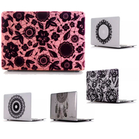 Fashion Matte Lace Pattern Laptop Sleeve Cover For Macbook Air Pro Retina 11 12 13 15