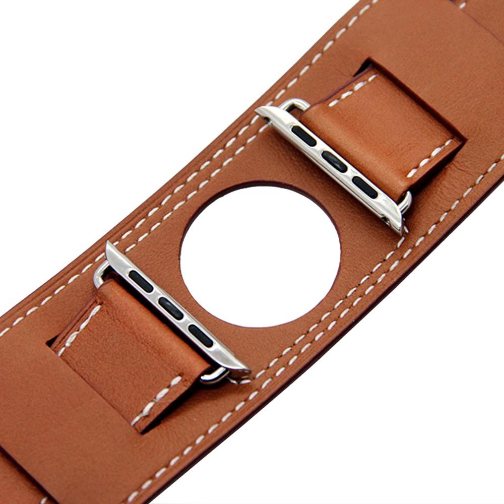 Apple Watch Cuff bracelet Brown 5