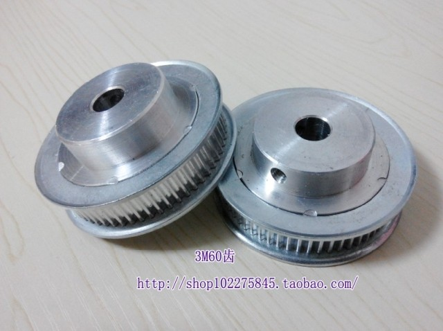 HTD5M 60Teeth Pitch 5mm Bore 10mm Synchronizing wheel Timing Pulleys for Stepper Servo motor ROBOTIC 3D Printer