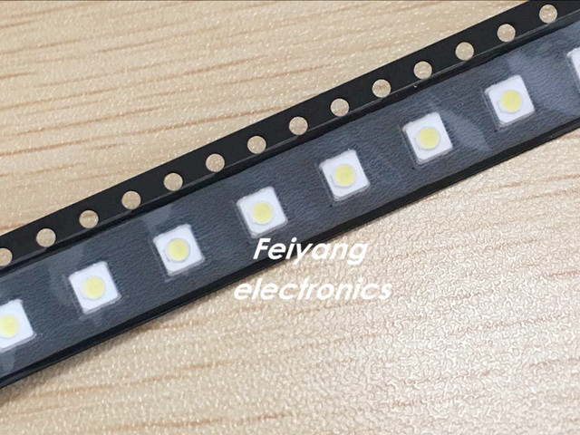50pcs Backlight High Power LED 1W 3537 3535 100LM Cool white LCD Backlight for TV TV Application SPBWH1332S1BVC1BIB FOR SAM