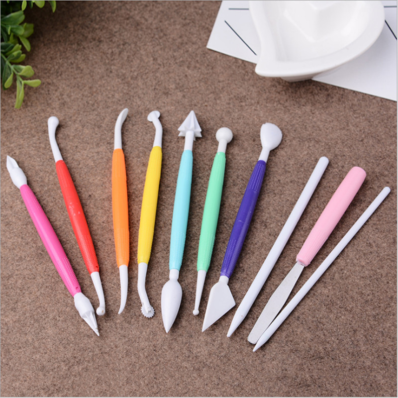 Sculpting Pottery Tools Clay Set Wax Carving Shapers Polymer Modeling Craft Kit