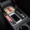 Estilo do carro, Versão mais recente Car Glove Box Braço Box Armazenamento Secundário para Audi A4 B8 A5 S5 2009-2015