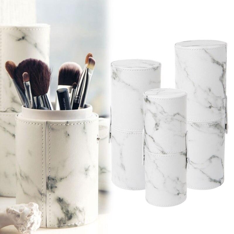 Fashion Makeup Brush Pen Holder Empty Storage Box Organizer Cosmetic Case