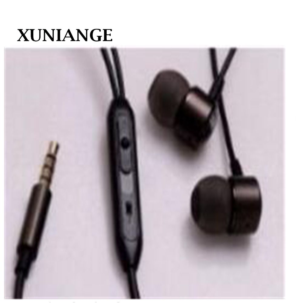 XUNIANGE  Headphones Sports Running Portable Earbuds Stereo Earphones with Microphone Wired In-Ear Headphones