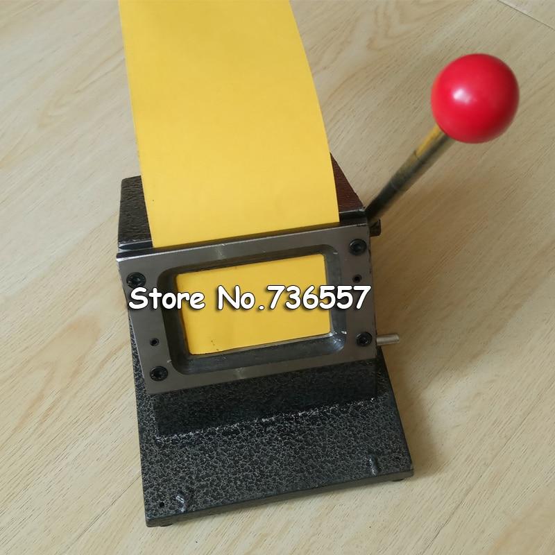 86*54mm Round Corner All Metal PVC Card Die Cutter,Manual PVC ...