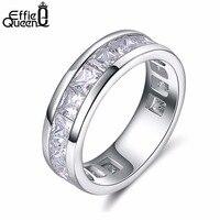 Массивное кольцо с кубическим цирконием