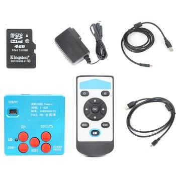 21MP/30MP 1080P 60FPS 2K HDMI Industrial Monocular Microscope Camera Video Recording IR Remote For Mobile Phone Repair