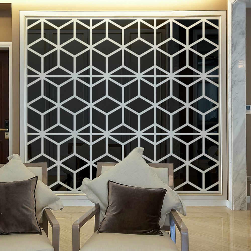 20Pcs 25cm × 100CM 3D Mirror Acrylic Wall Sticker DIY Art Vinyl Decal Home Decor