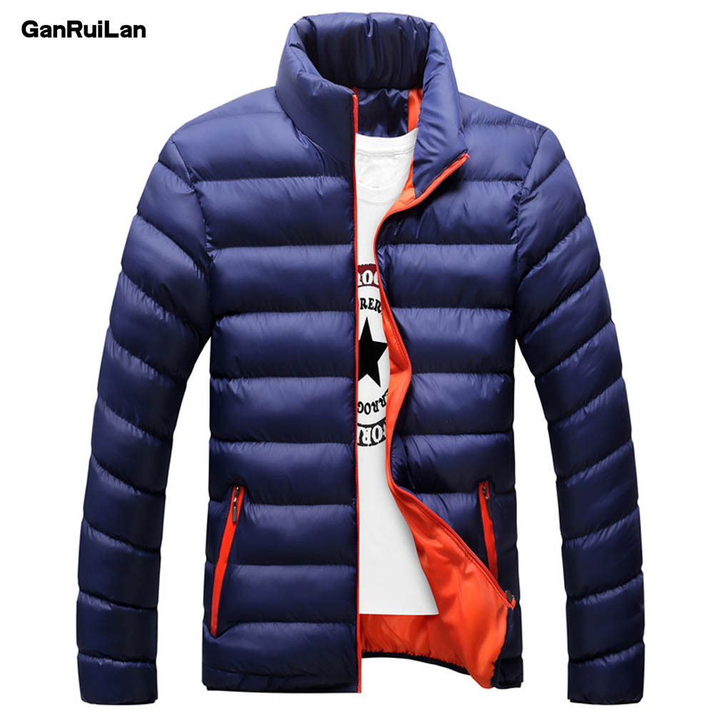 Winter Men Jacket 2019 Brand Casual Mens Jackets And Coats Thick Parka Men Outwear 4XL Jacket Male Clothing JK18028
