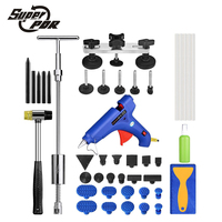Super PDR tools Slide hammer Paintless Dent Repair Tools Dent Removal Dent Puller Tabs Dent Lifter Hand Tool Set Tool kit
