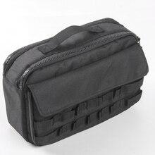 For Jeep Wrangler TJ JK JL 2007-2018 Car Tool Kit Organizer Pocket Tool Storage Bag цены онлайн