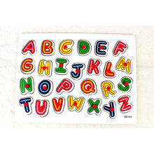 Supply toys creative toy wooden jigsaw puzzle English letters children's early education educational toys wooden cardboard english spelling alphabet game early education educational toys educational toy gift creative games brinquedos