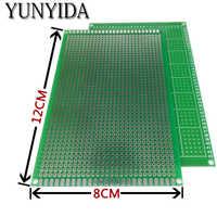 98-20 envío gratis 2 uds. 8x12cm de un solo lado prototipo PCB placa de circuito impreso Universal