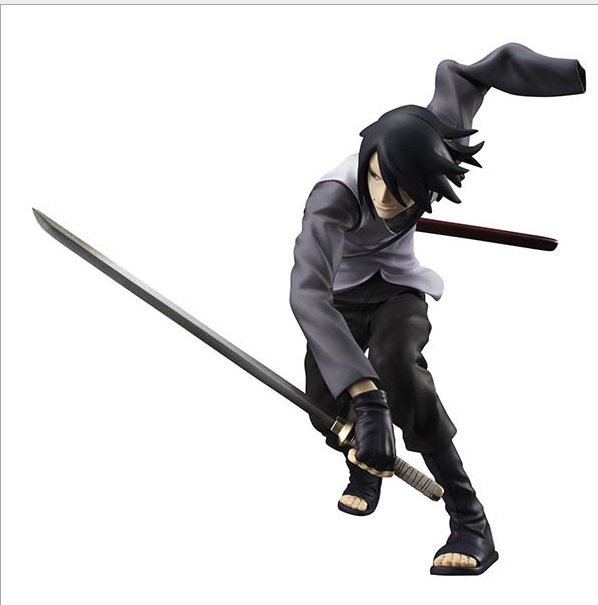1pcs Japan anime Naruto Film.ver Uchiha Sasuke action pvc figure model tall 18cm for collection. parson poetry for pleasure