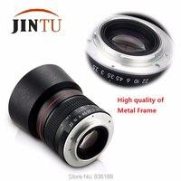 JINTU 85 мм f/1,8 портретный асферический телеобъектив для камеры Nikon D5400 D3200 D3400 D5200 D5600 D7200 D810 D800 DSLR Камера