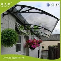 YP100240-ALU 100x120 cm 100x240 cm 100x360 cm pencere tente polikarbonat gölgelik