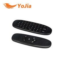 [Подлинная] 2.4 ГГц G Мышь II/C120 Air Mouse T10 Аккумуляторная Беспроводной ГИРОСКОПА Воздуха Fly Мышь Клавиатура для Android TV коробка Компьютера