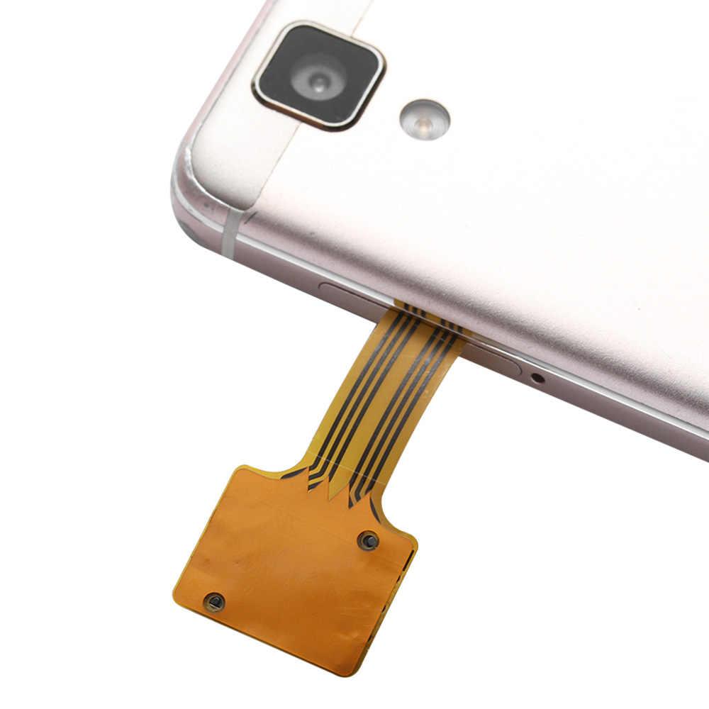 ใหม่ DIY ปฏิบัติ Universal TF Hybrid Sim Slot Dual SIM Extender การ์ด Micro SD Extender Nano Cato โทรศัพท์ Android