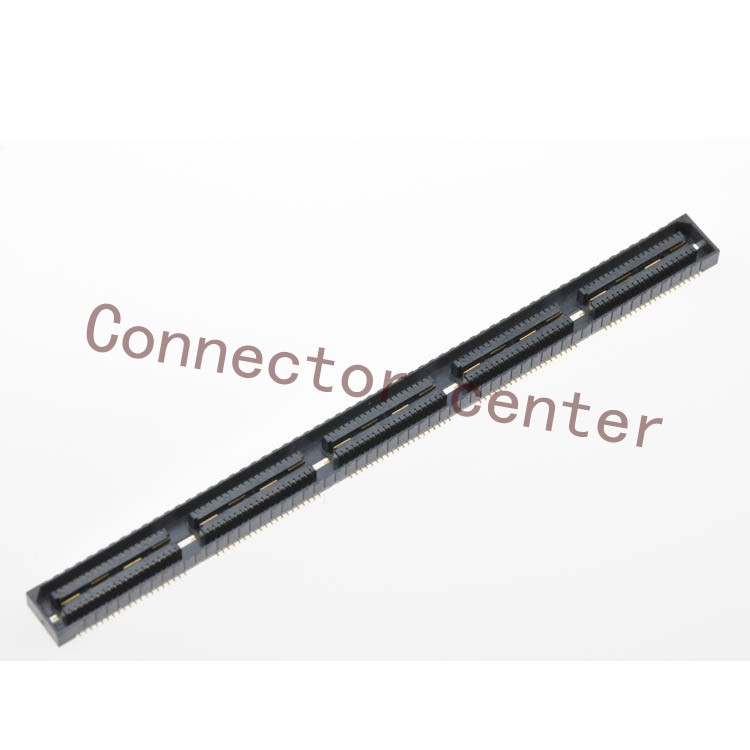 High Spped Connector For Samtec 0.8mm Pitch 200PIN Female Original QSE-100-01-L-D original 6609113 9 connector