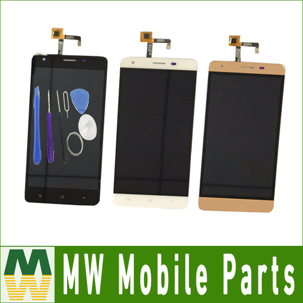 1PC Lot For Oukitel K6000 Pro Display Touch Screen Digitizer Assembly Replacement Black Color With Tools