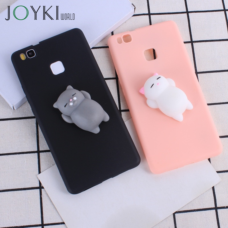 for coque huawei p9 lite case luxury squishy case for huawei p10 lite p8 lite 2017 y3 y5 2017