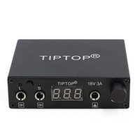 2017 Newest Tip Top High Quality Professional Mini Tattoo Power Supply For Tattoo Machine Guns Supply