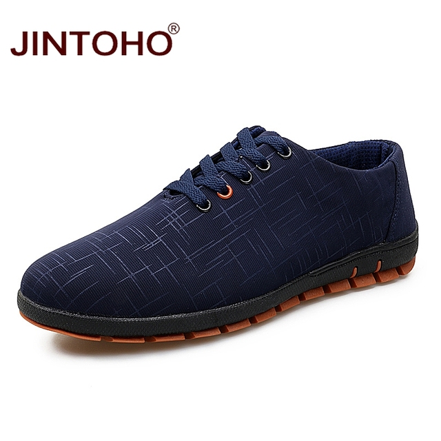 fedb2798795060 JINTOHO Mode Respirant Casual Hommes Chaussures Marque Hommes En Cuir Chaussures  Homme Pas Cher Chine Chaussures