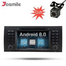 """Android 8.0 Octa Core 7 """"Car DVD Player per BMW/E39/X5/M5/E38/ e53 Car Stereo Con Canbus DSP IPS OBD Multimediale di Navigazione GPS"""