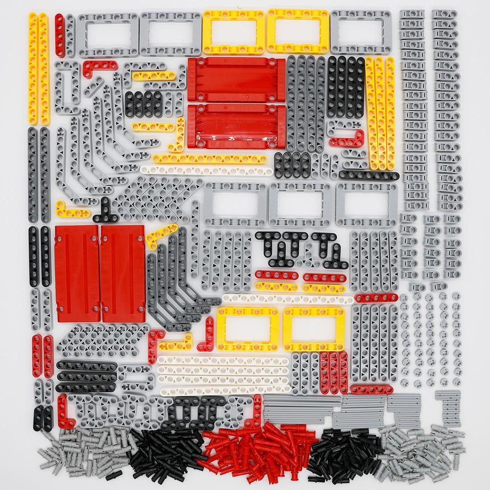 548PCS блоки Technic Parts Liftarm Beam Cross Axle Connector - Детские конструкторы