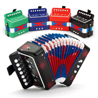2018 Hot Sale Children'S Toy Musical Instrument Simulation Accordion Music Toys Educational Toy Kids Musical Accordion