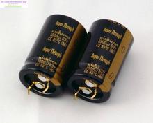 2pcs nichicon audio electrolytic capacitors KG Super Through 1000UF/63V 22*35mm super capacitor penetration free shipping конденсатор nichicon kg super through 16v 4700uf