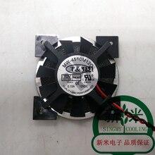 Используется T& T MW-4510M12C 12 V 0.15A 2 линии вентилятор охлаждения ноутбука
