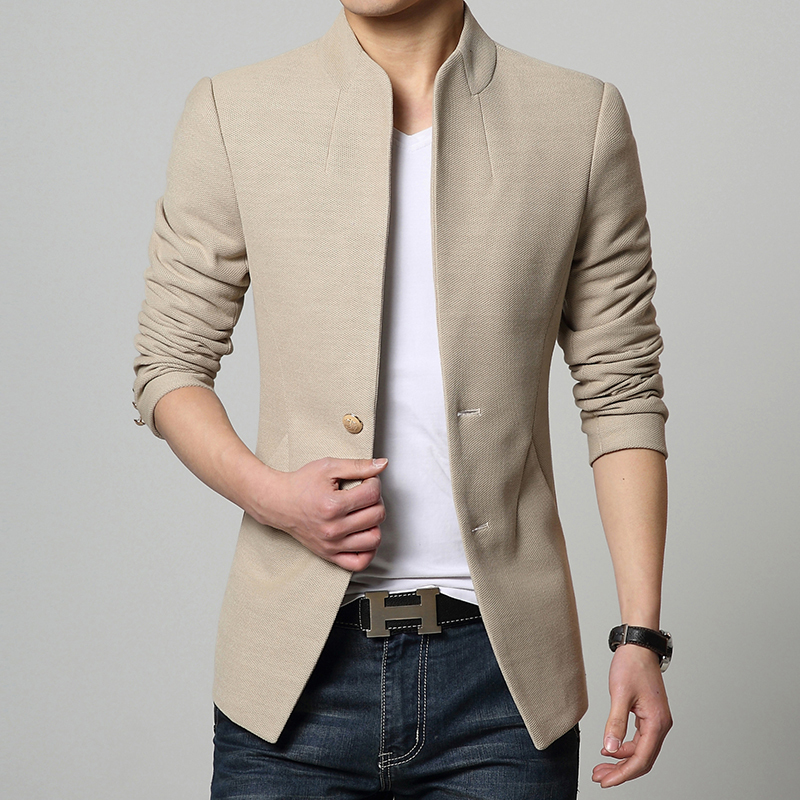 2017 Hot Costume Homme Tactical Measure Suit Jackets Casual Single ...