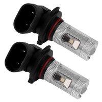 10x2pcs 9145 9140 H10 7000K White High Power 30W LED Bulbs For Driving Fog Light