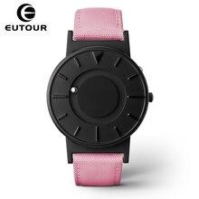 2017 EUTOUR nuevas mujeres top famosa Marca de Lujo de moda Casual femenina Del Reloj Del Cuarzo de Las Señoras relojes creativos Relojes de Pulsera Magnética