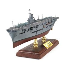 лучшая цена FOV 1/700 Scale Military Model Toys HMS Ark Royal Aircraft Carrier Diecast Metal Warship Model Toy For Collection,Gift