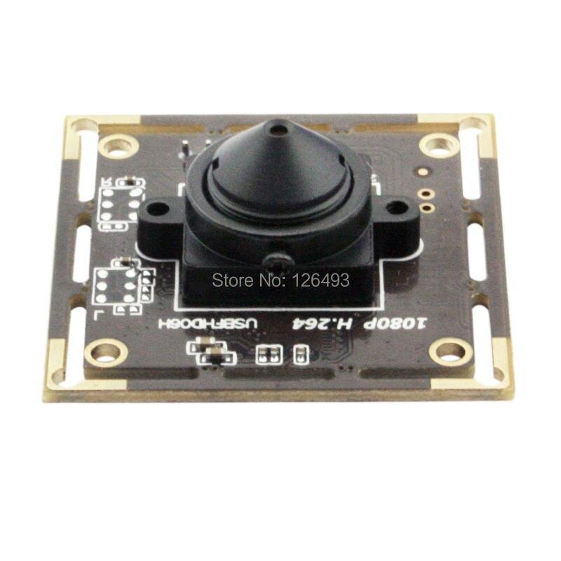 1920X1080 30fps H.264/MJPEG Sony IMX322 Haute vitesse À Faible lumière USB Caméra webcam Module avec 3.7mm lentille
