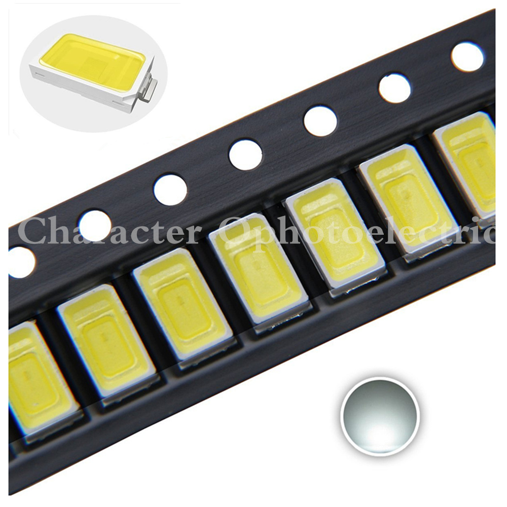 20 ~ 1000pcs 0.5W 1/2W 5630 / 5730 LED Warm / White Red Green Blue Yellow / UV SMD LED Chip Corn Bulb Lamp Light Diode image