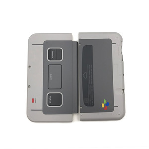 Image 2 - لنينتندو جديد 3DSLL XL SNES طبعة محدودة الجبهة الخلفي غطاء الإسكان شل الحال بالنسبة New3DSXL LL