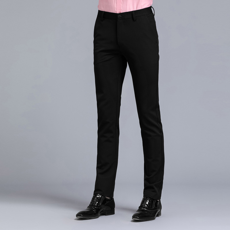 Suit Pants Mens Black Slim Fit Dress Office Trousers Men Size Business Clic S Perfume Masculino In From