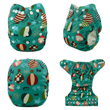 JinoBaby Cloth Diapers Training Pants One Size Fits for Baby 3KGS to 17KGS 1PCS Bamboo Insert