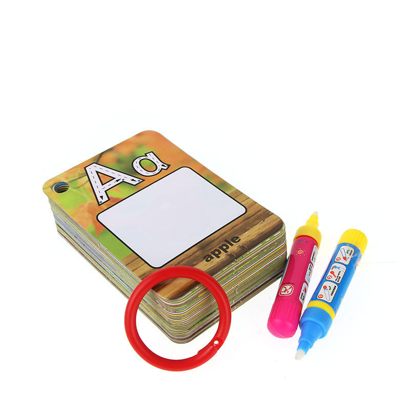 Water-Drawing-Card-26-English-Learning-Card-Magic-with-2-Pen-Letter-Card-Painting-Board-Educational-Toys-for-Kids-1