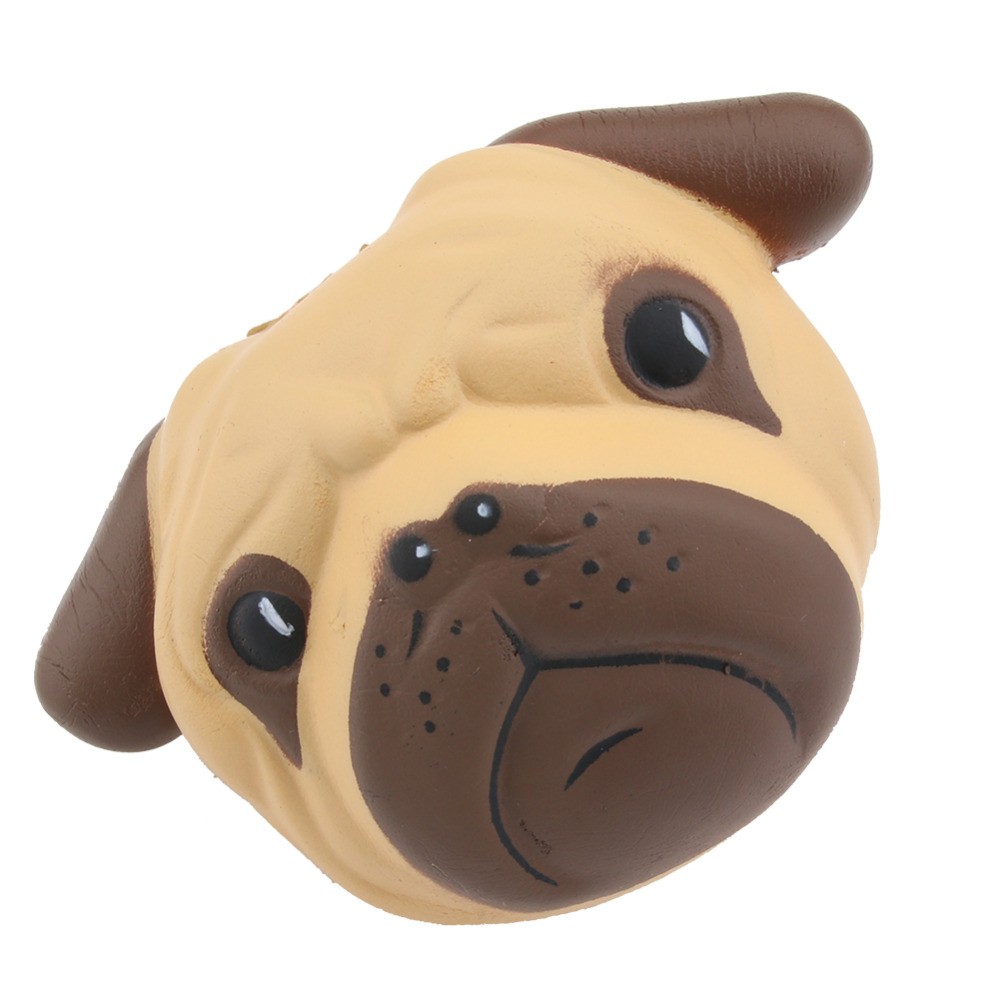 Mobile Phone Straps Mobile Phone Accessories Shop For Cheap Antistress Ball Pug Dog Face Mini Squeeze Squishy Toys Slow Rising Squeeze Stretchy Animal Healing Stress Kids Adults Toys