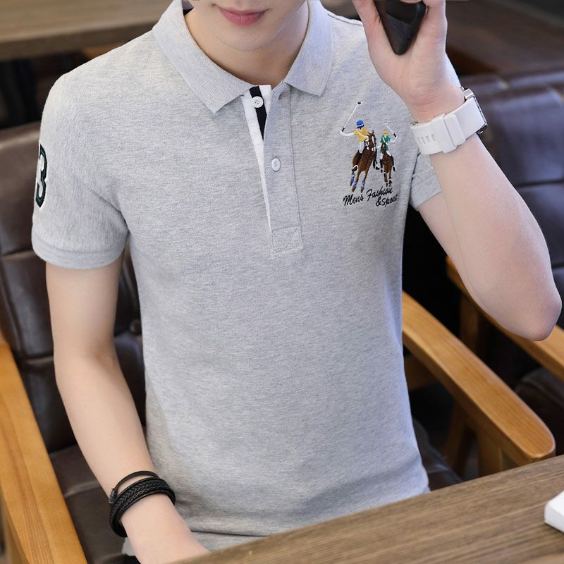 Golf   Polo   Shirt Men 2019 Autumn Short Sleeve Top Tee Shirts Cotton Brand Clothing Outwear Men's   Polo   Shirts Casual Soft   Polos