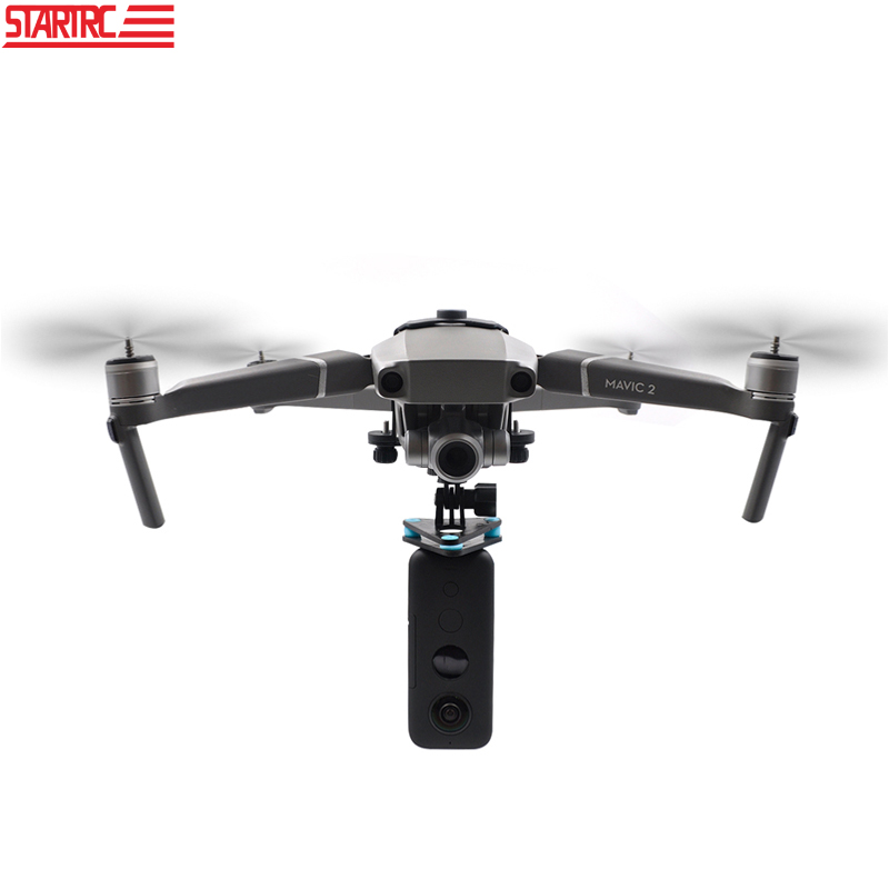 STARTRC Camera Connection Adapter For DJI Mavic 2 Pro   2 Zoom Connector Mount For Insta360 ONE X GoPro Hero 7 8 Black